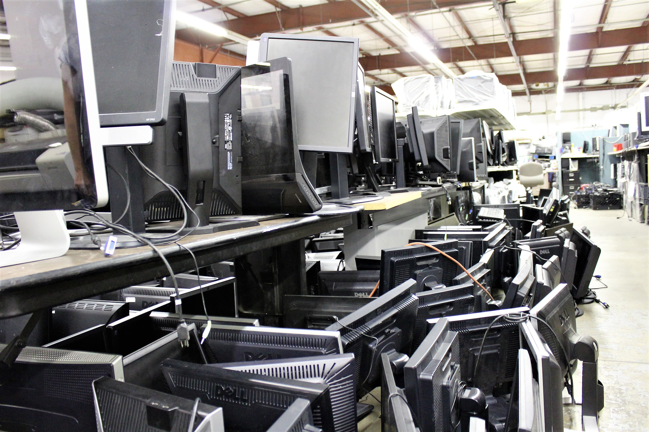 sea of monitors