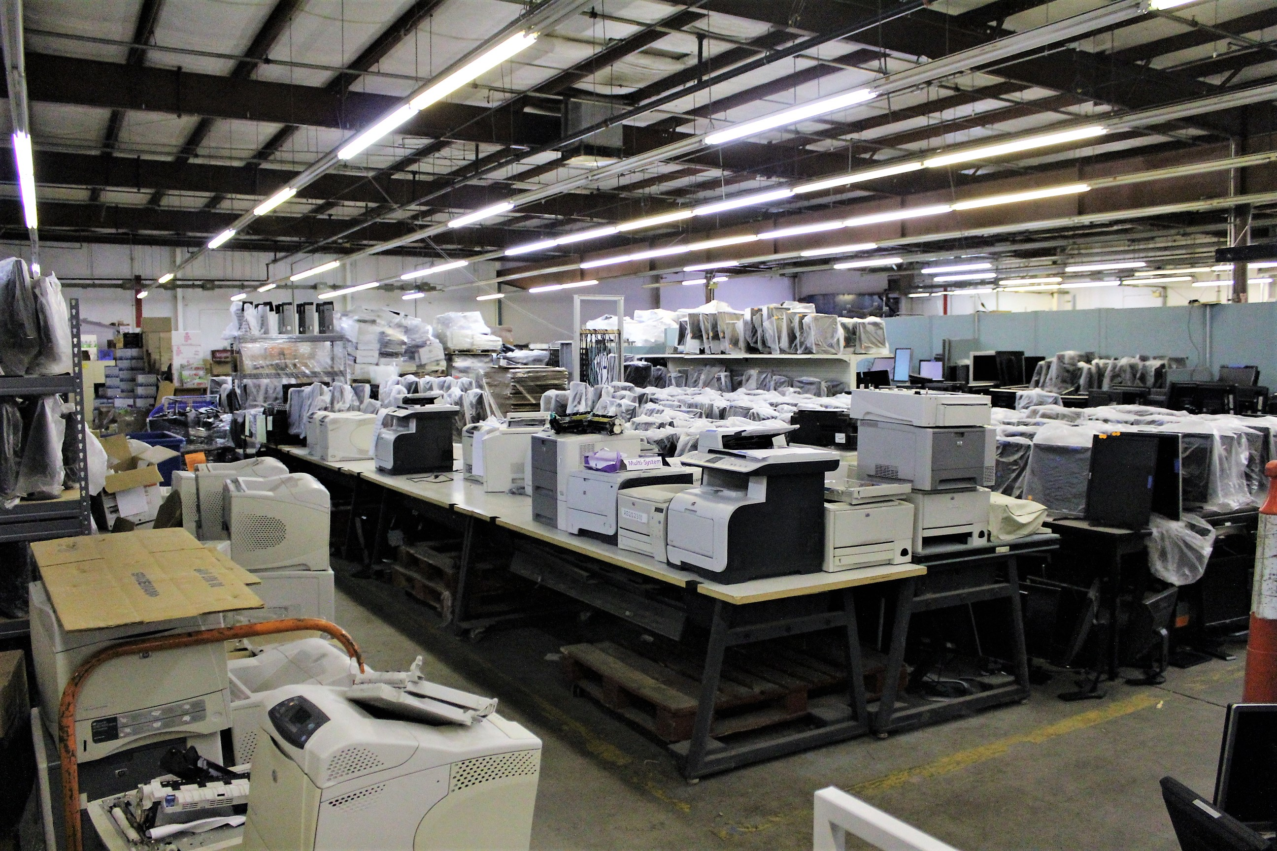warehouse span