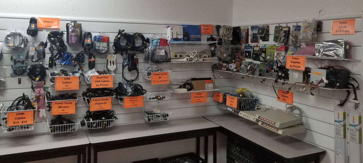 Cables, Mice, Keyboards, and Parts